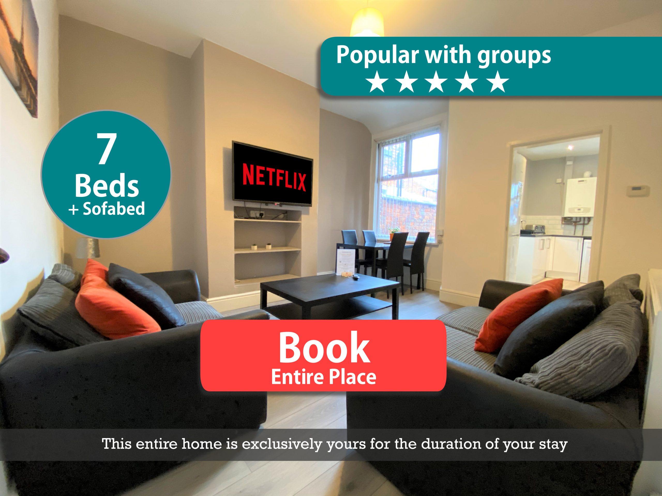 Ruskin Place, Crewe (8 Bed, 2 Bath)
