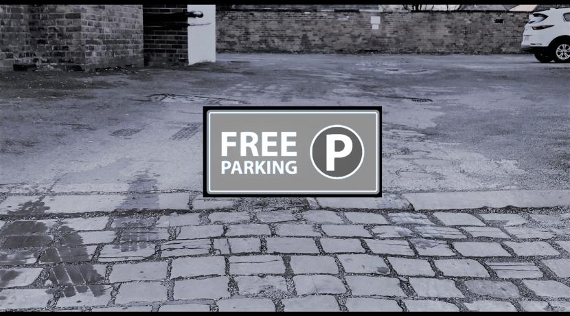 Free Parking at No57
