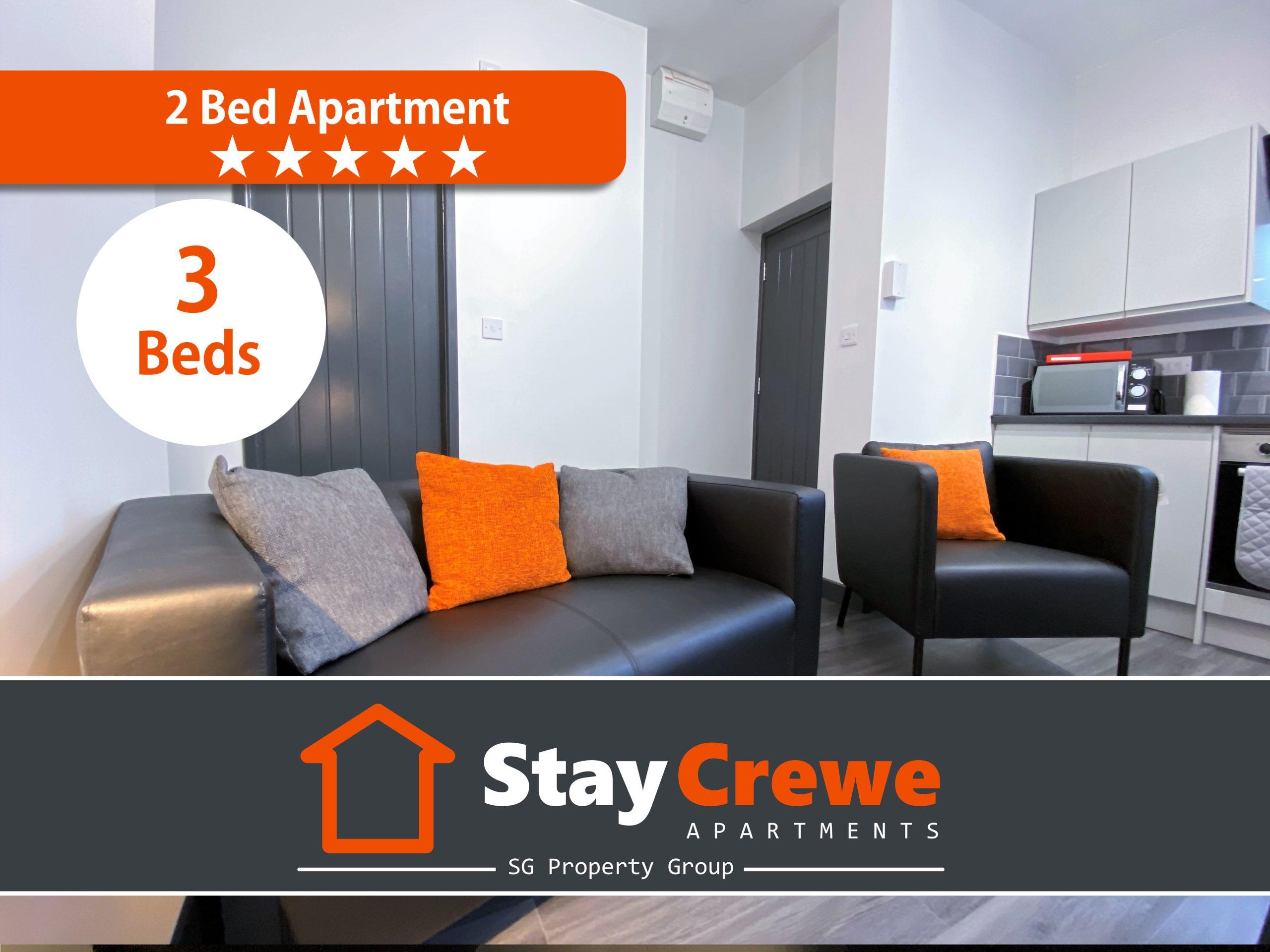 StayCrewe Apartments – Apt 2