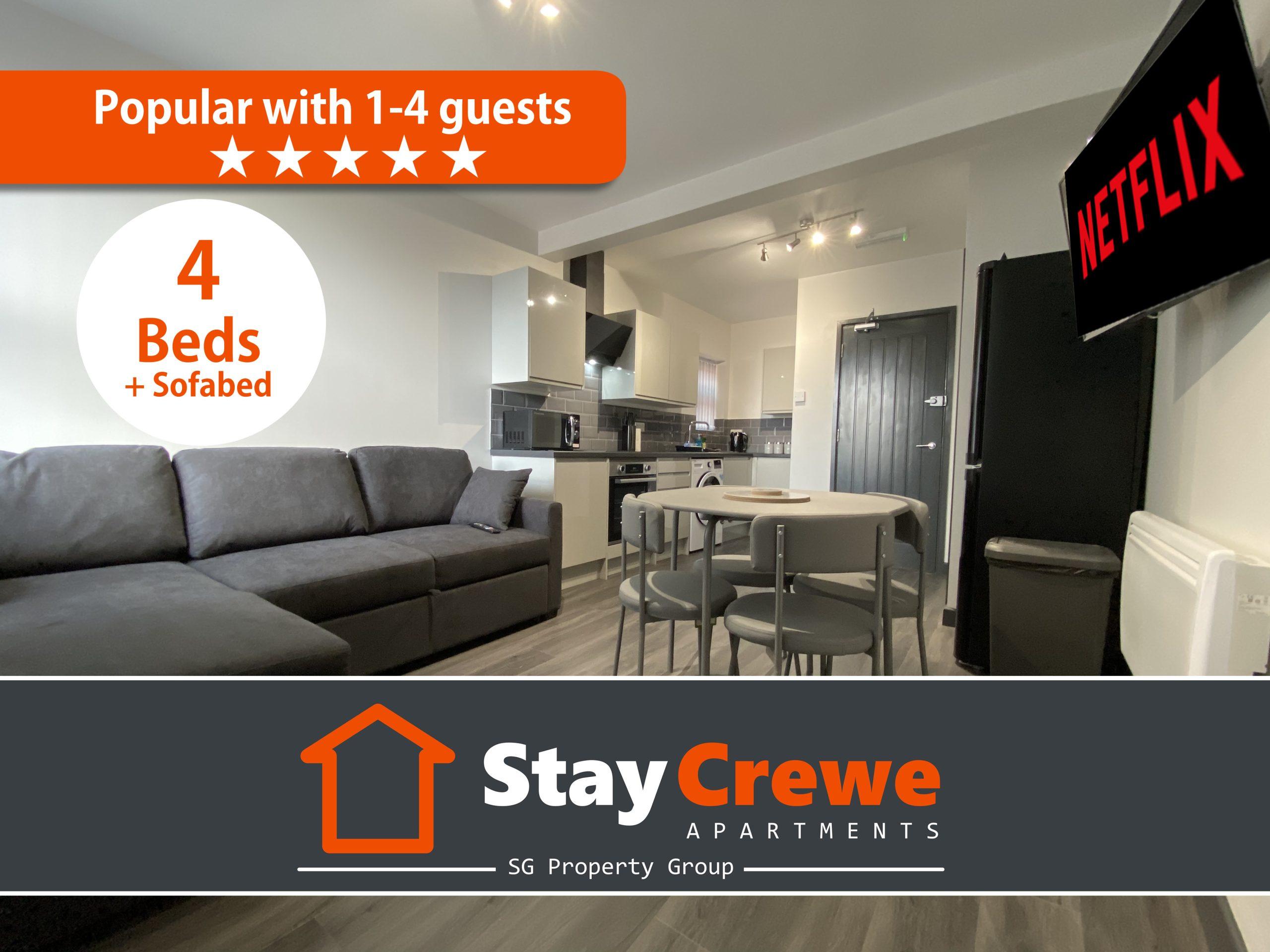 StayCrewe Apartments – Apt 3
